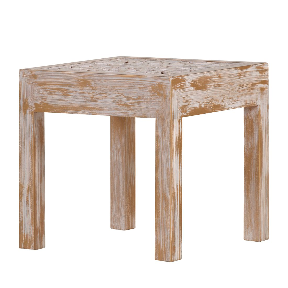 Table basse Chapalasee - Pin massif marron - Teinté et verni, Red Living