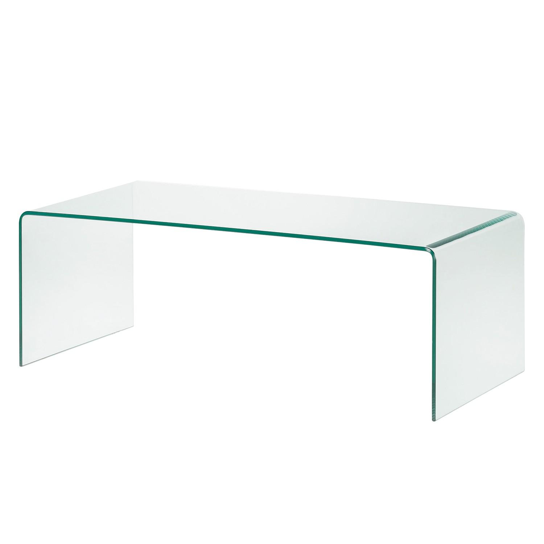 Table d'appoint Drap - Verre - 110 x 50cm, Fredriks