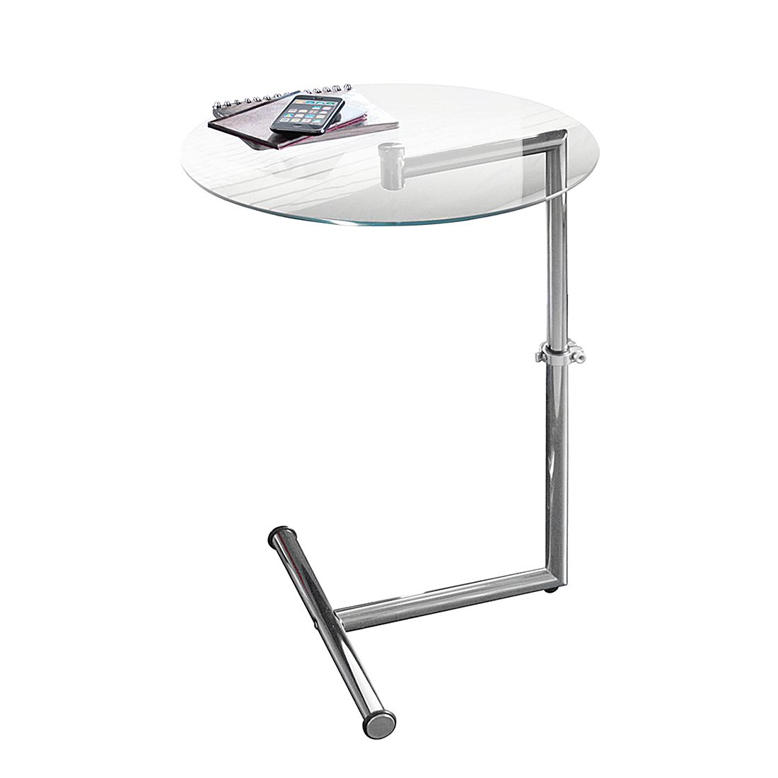 home24 Beistelltisch | Wohnzimmer > Tische | Silber | PureDay