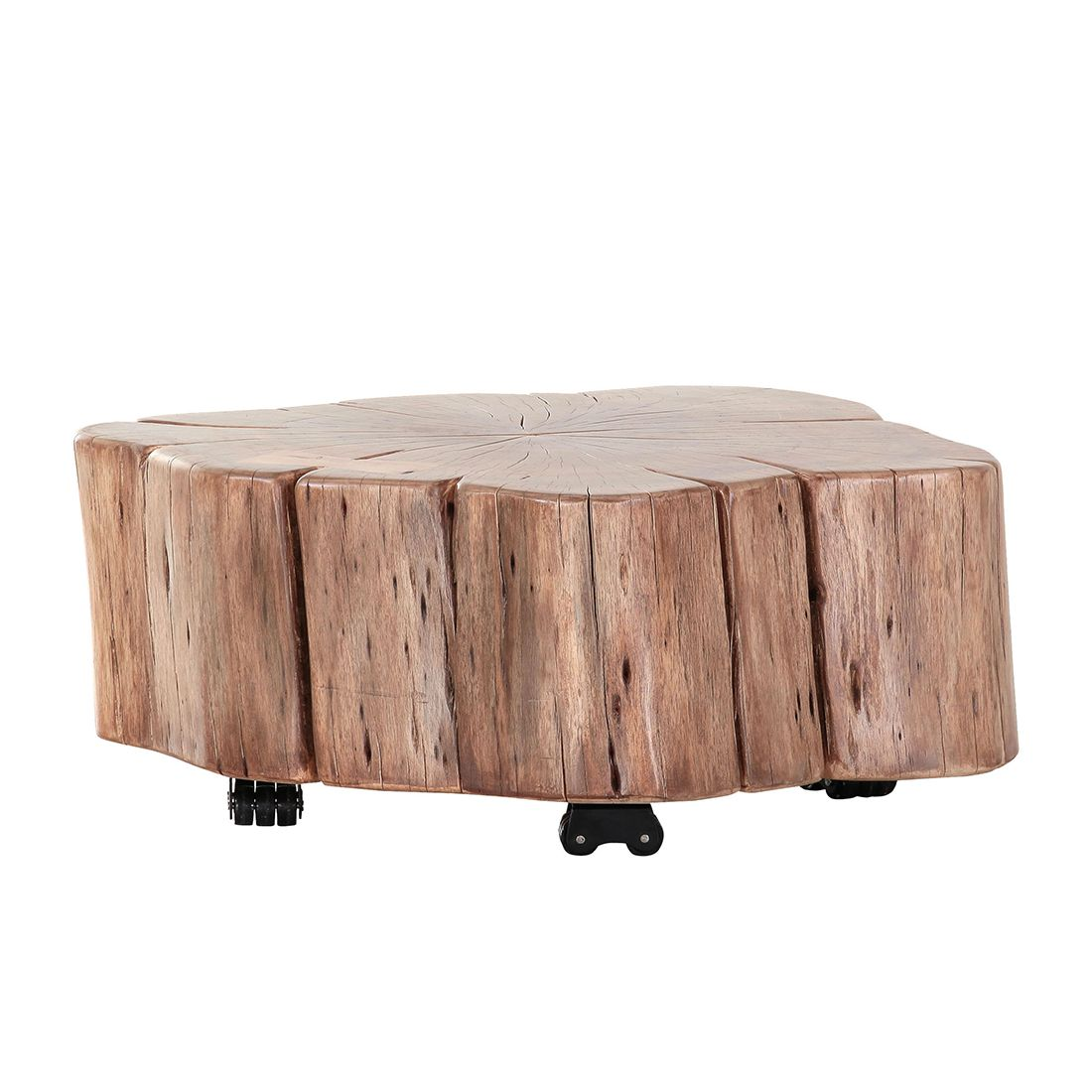 Table d'appoint Groovy I - Acacia massif, ars manufacti