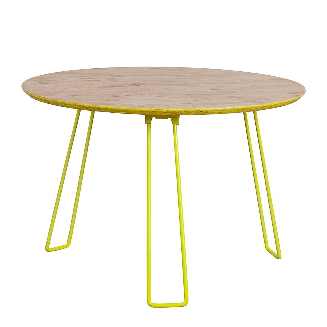 Tavolino da salotto Osb L - Giallo fluo, Zuiver