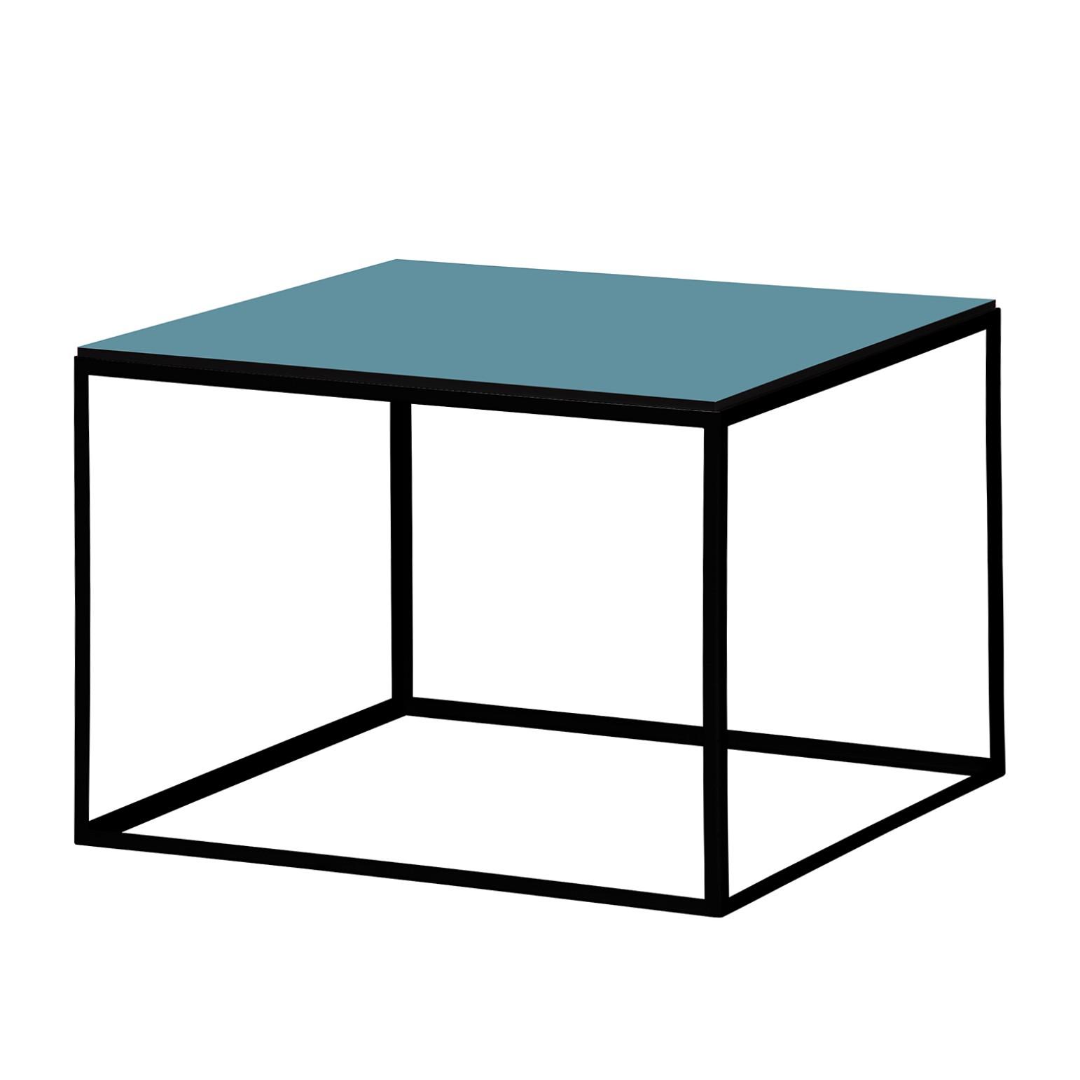 Table d'appoint Piet I - Pétrole / Noir, Studio Copenhagen