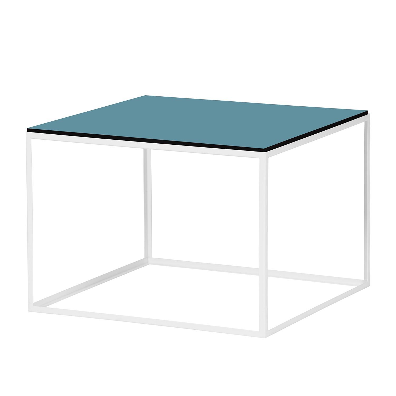Table d'appoint Piet I - Pétrole / Blanc, Studio Copenhagen