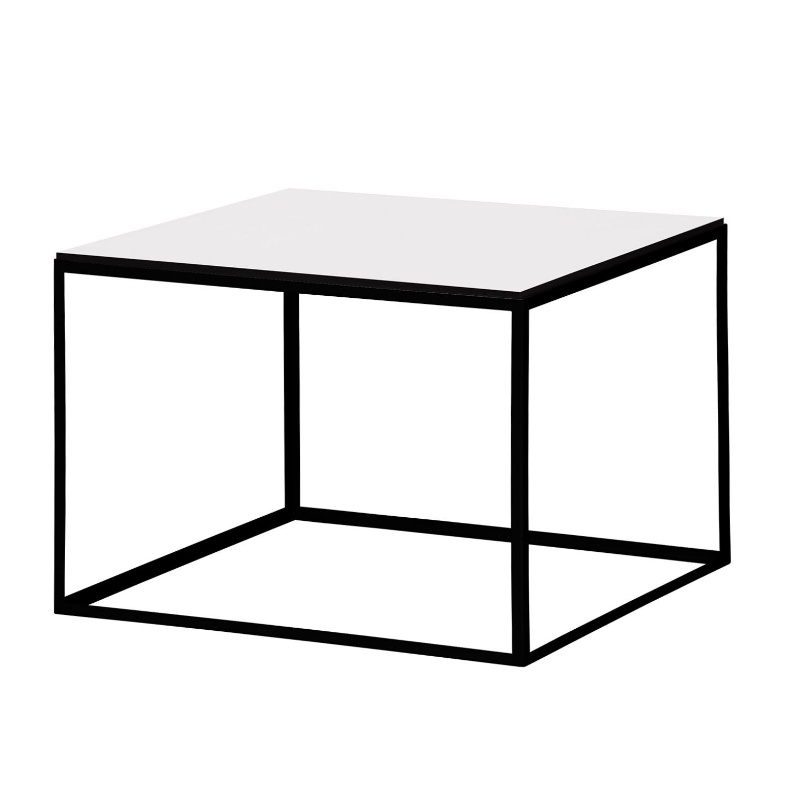 Table d'appoint Piet I - Blanc / Noir, Studio Copenhagen