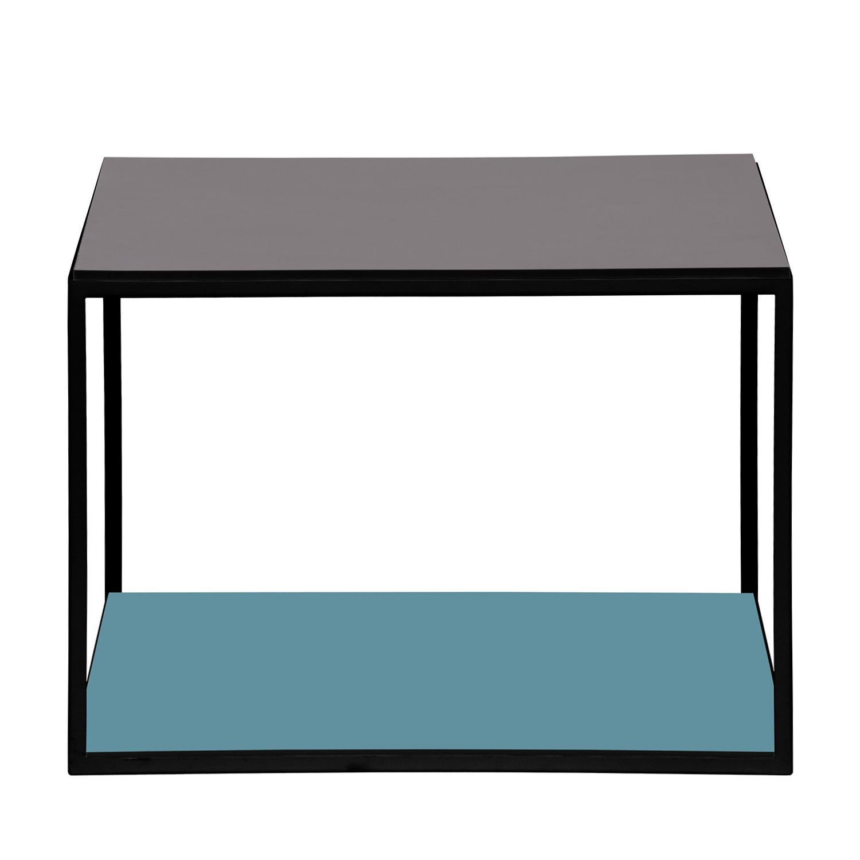Table d'appoint Piet II - Pétrole / Noir, Studio Copenhagen