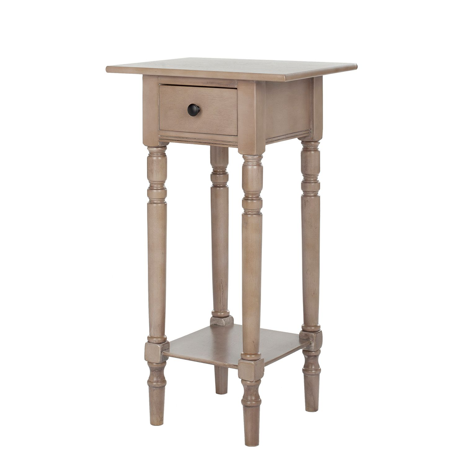 Table d'appoint Sabrina - Pin massif - Beige, Safavieh