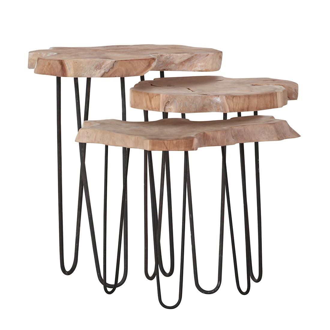 Set di tavolini d'appoggio Nashua, Red Living