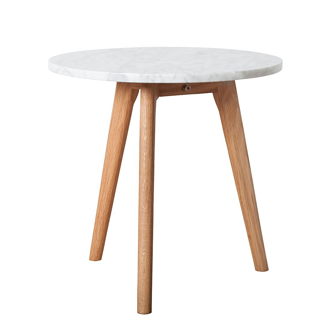 Table d'appoint Stone M - Blanc, Zuiver