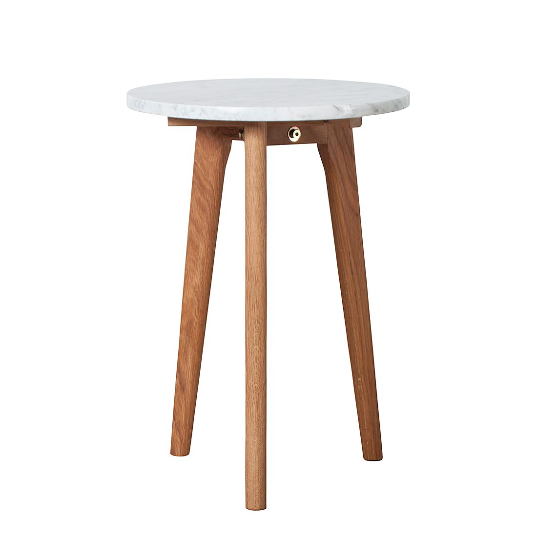 Table d'appoint Stone S - Blanc, Zuiver