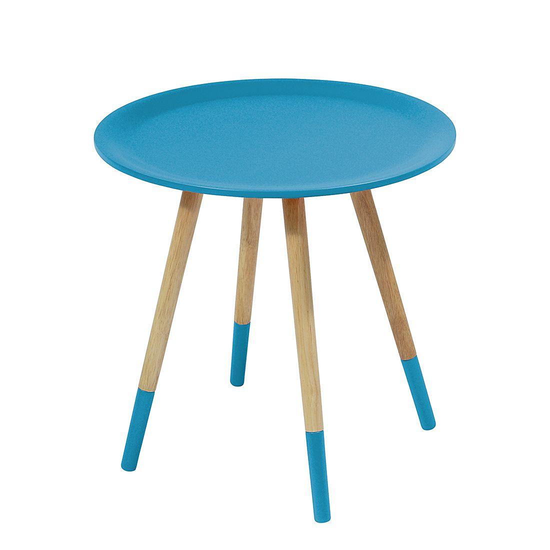 Image of Tavolino Two Tone - Blu, Zuiver