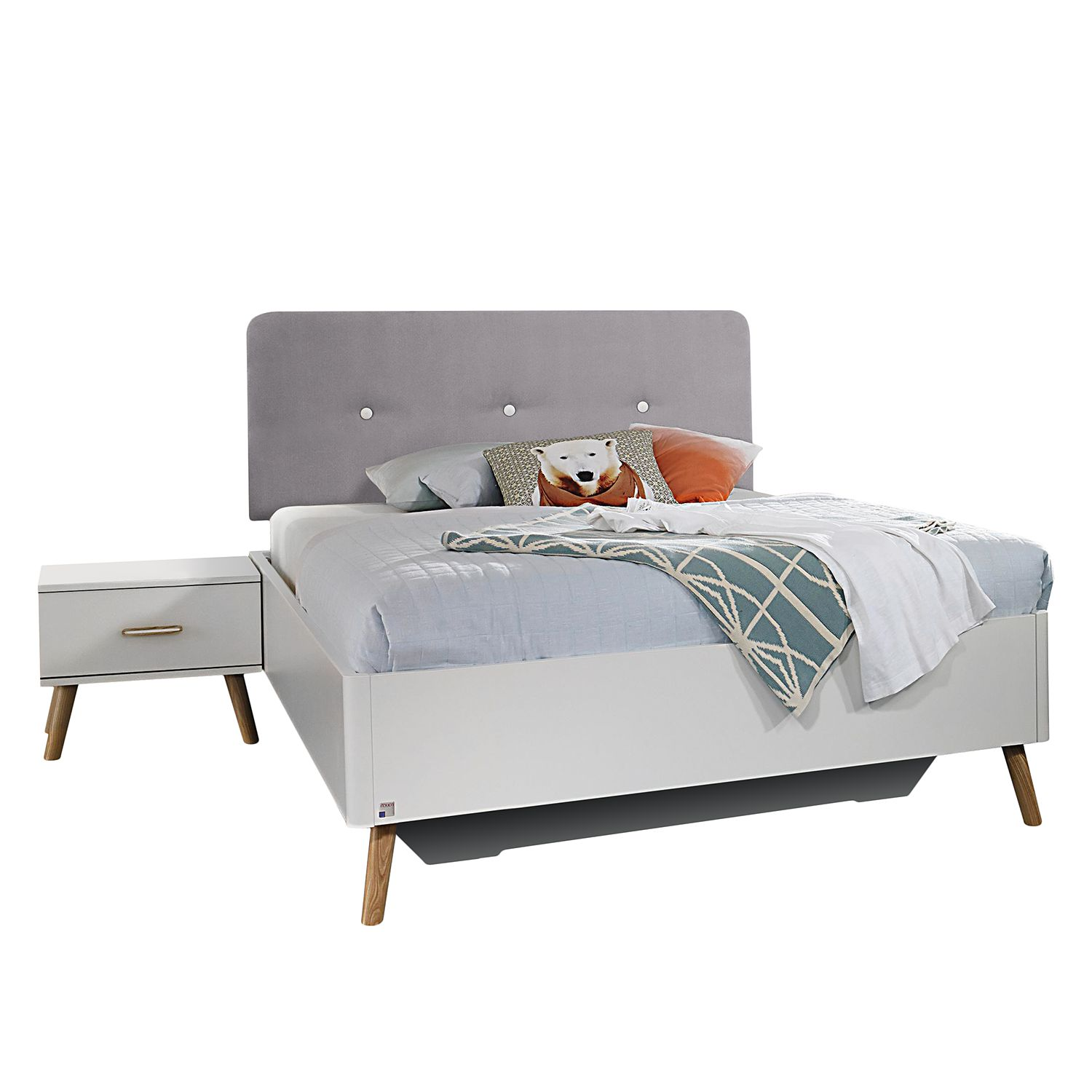 goedkoop Bed Annett wit 120 x 200cm Rauch Packs
