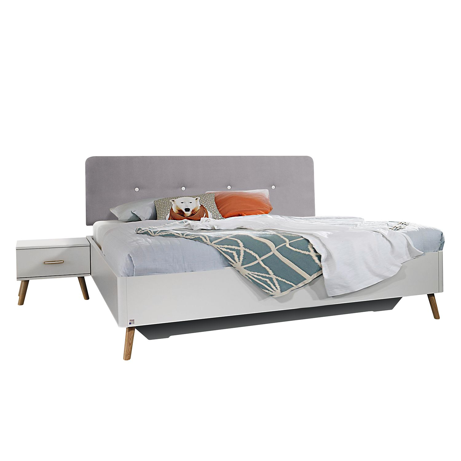 goedkoop Bed Annett wit 180 x 200cm Rauch Packs