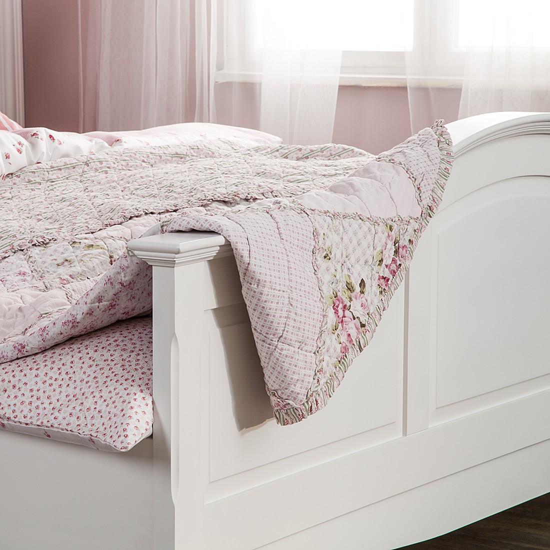 Bett aus der Serie Giselle in Weiß (140 x 200 cm) | home24