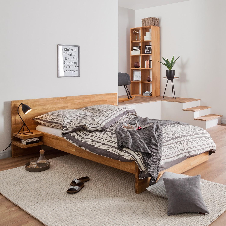 Schlafzimmermöbel - Massivholzbettgestell TessaWood - Ars Natura - Braun