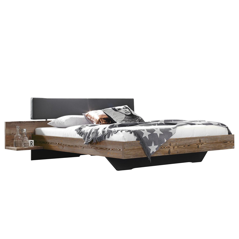 Lit Montreal - Imitation mélèze Couleur graphite - 140 x 200cm, Rauch Select