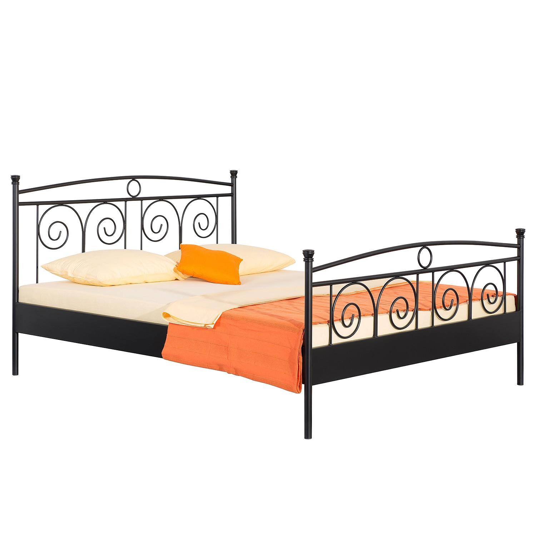 goedkoop Bed Roma zwart 140 x 200cm Neue Modular