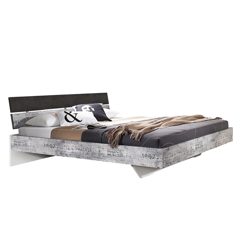 Lit Sumatra - 180 x 200cm - Marron / Blanc, Rauch Select
