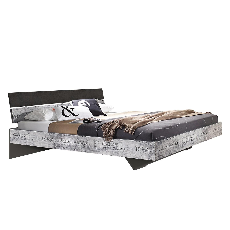 Lit Sumatra - 140 x 200cm - Marron / Gris, Rauch Select