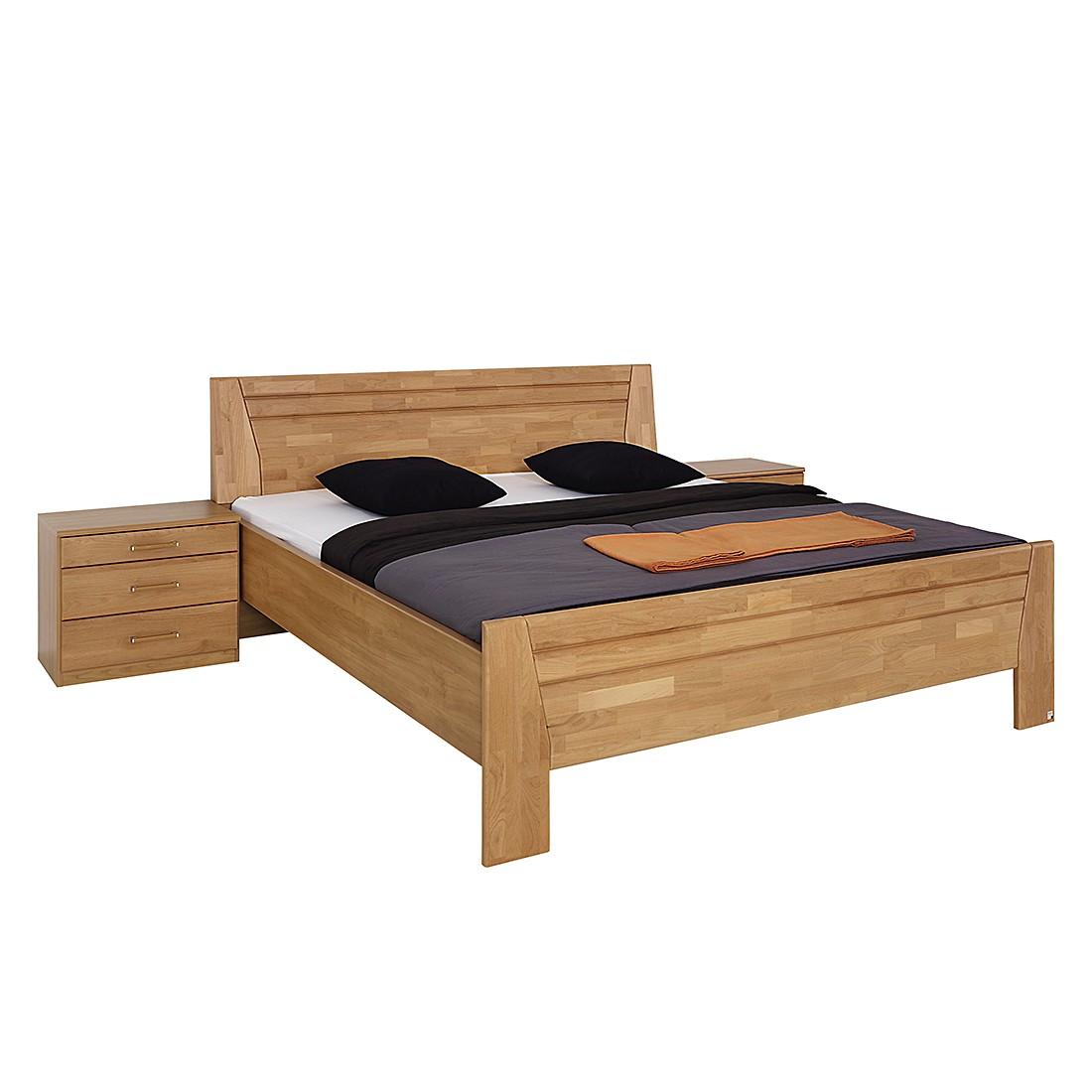 goedkoop Bed Sitara II gelakt deels massief elzenhout 180 x 200cm Rauch Steffen