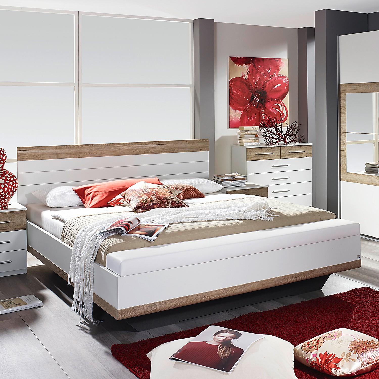Schlafzimmermöbel - Bettanlage Tarragona (3-teilig) - Rauch Pack´s - Weiss