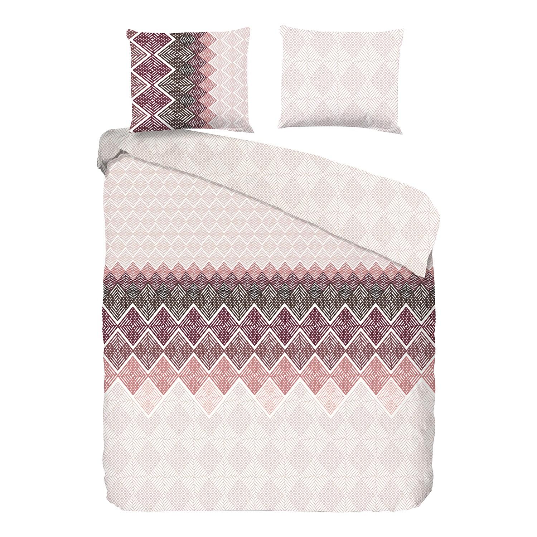 home24 Bettwaesche Abigale   Heimtextilien > Bettwäsche und Laken > Bettwäsche-Garnituren   Pink   Textil   Good morning
