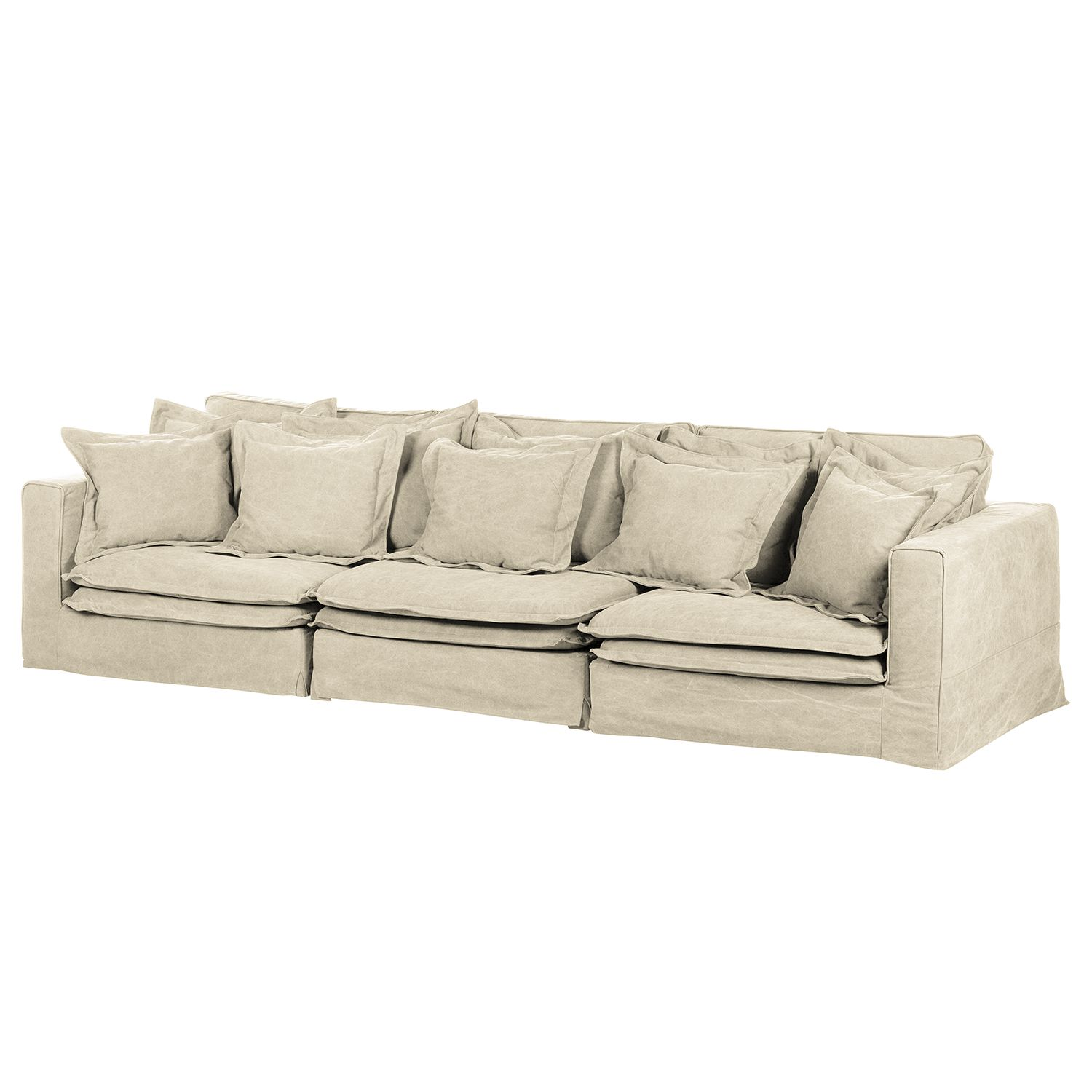 home24 Bigsofa Coral Beach Webstoff