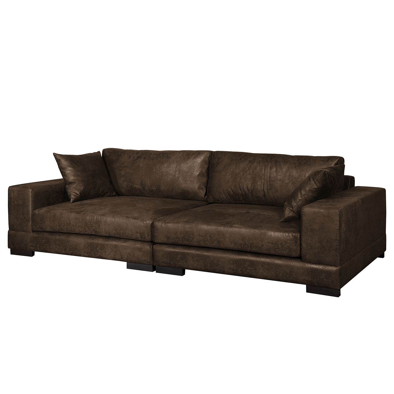 home24 Bigsofa Mandor Antiklederlook