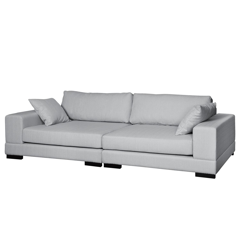 Grand canapé Mandor Tissu structuré
