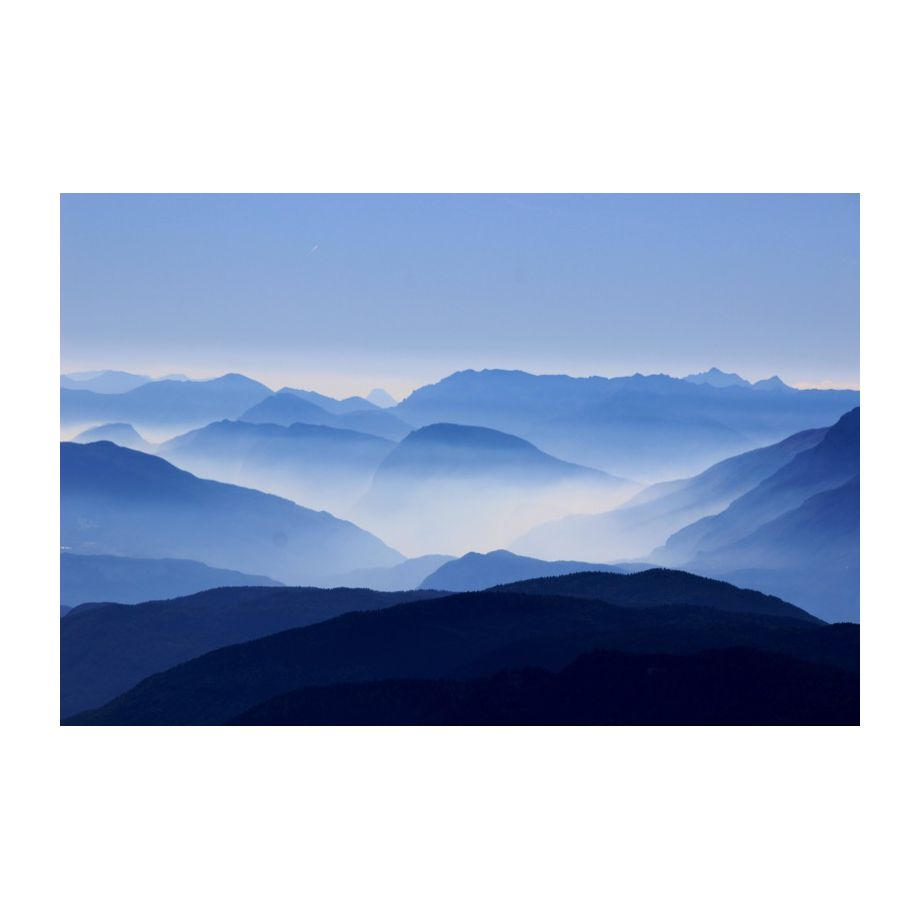 Alu-Dibond-Bild Corno Nero - Alu-Dibond - Blau - 60, seen.by