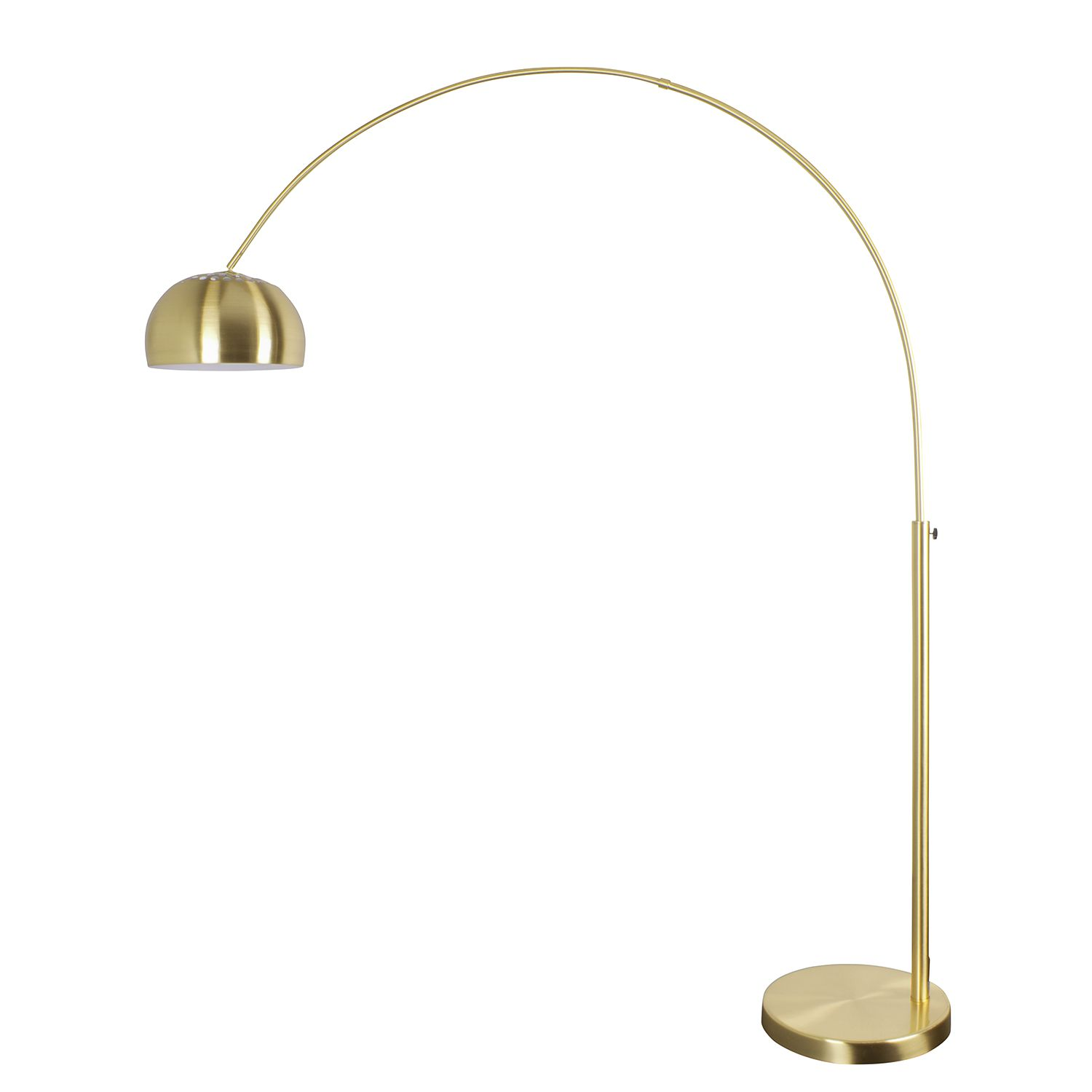 Lampadaire arc Gold Rush