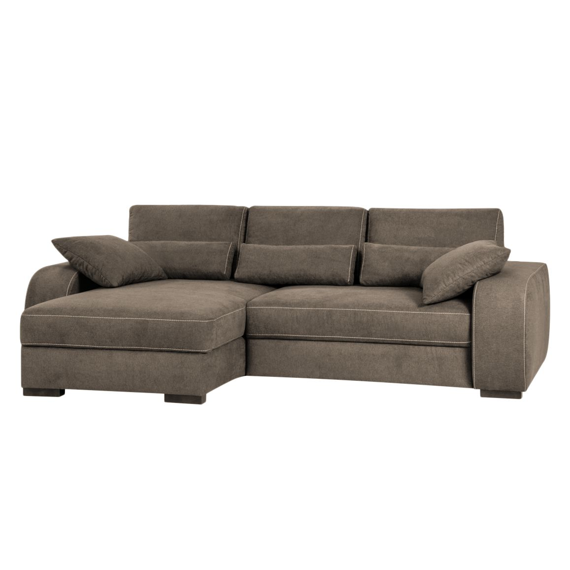 Canapé d'angle capitonné Comox