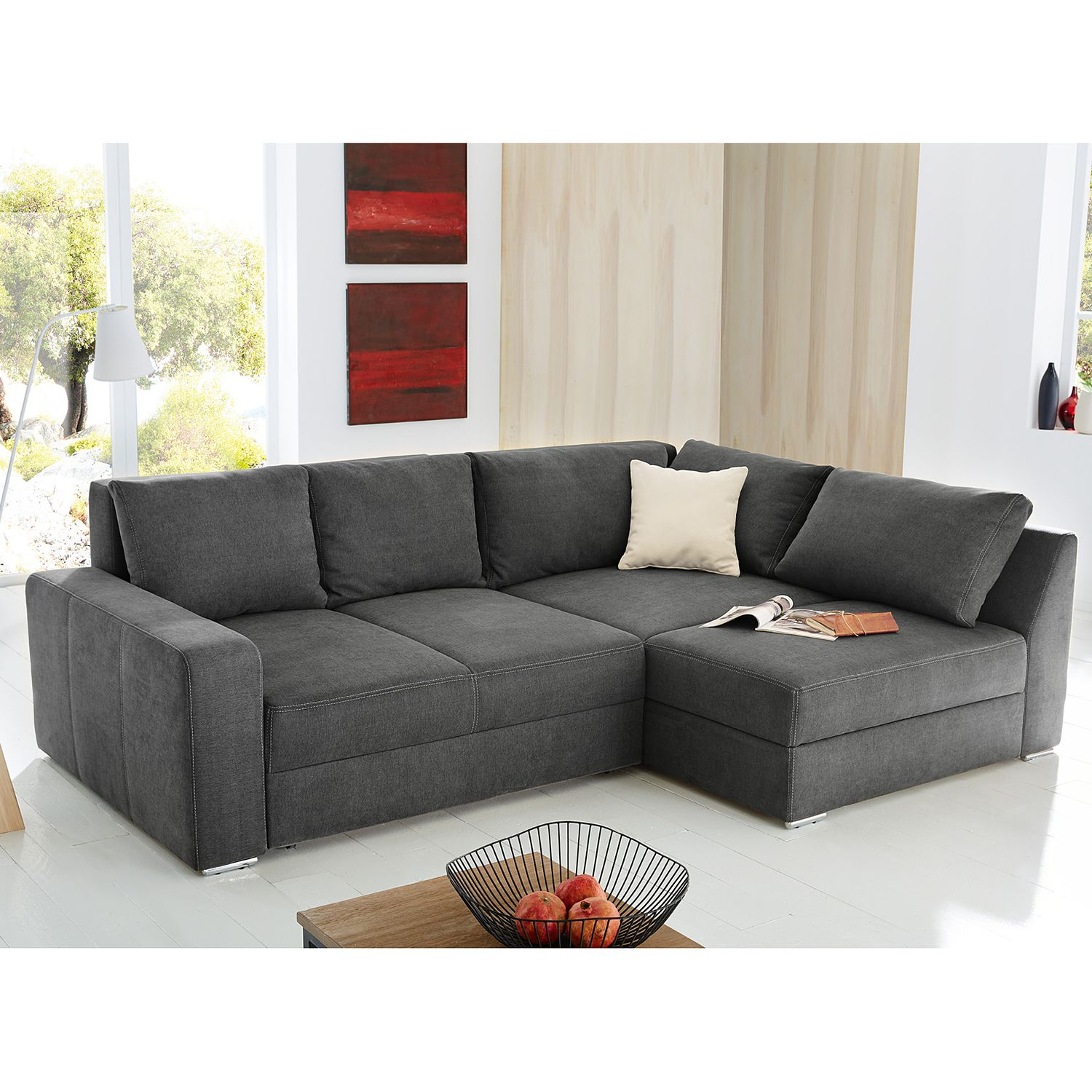 ecksofa stoff grau ecksofa stoff grau oscar sofa samt sofas von wilmowsky with ecksofa stoff. Black Bedroom Furniture Sets. Home Design Ideas