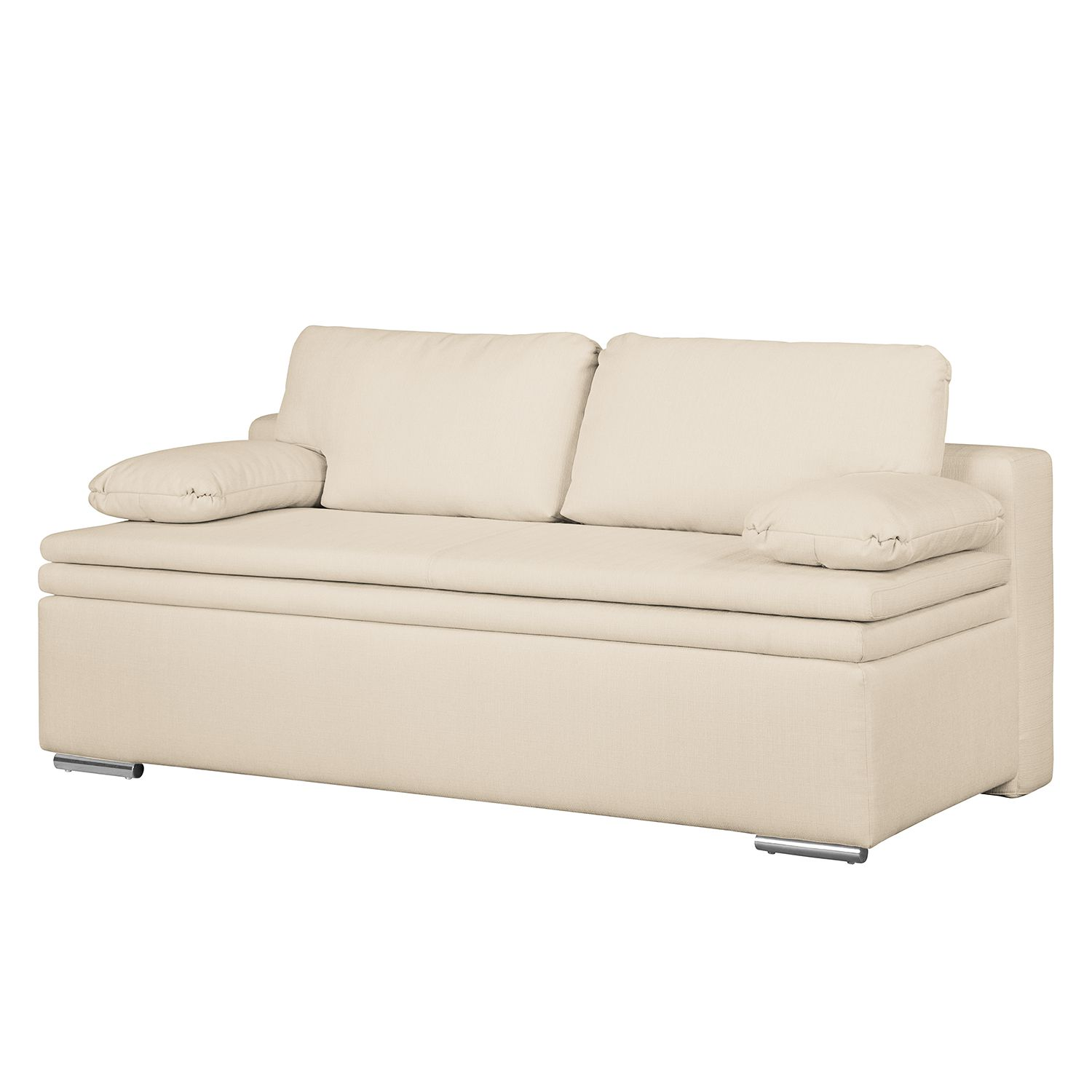 home24 Boxspring-Schlafsofa Goodlow