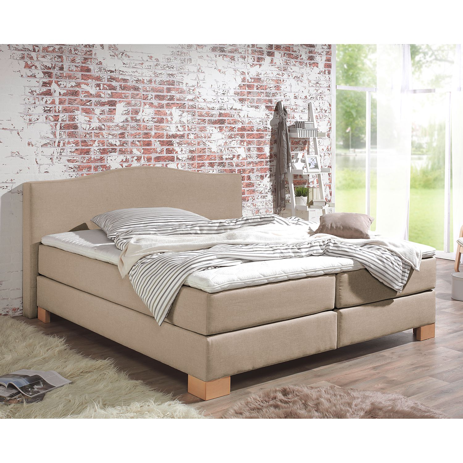 Lit boxspring Bottna