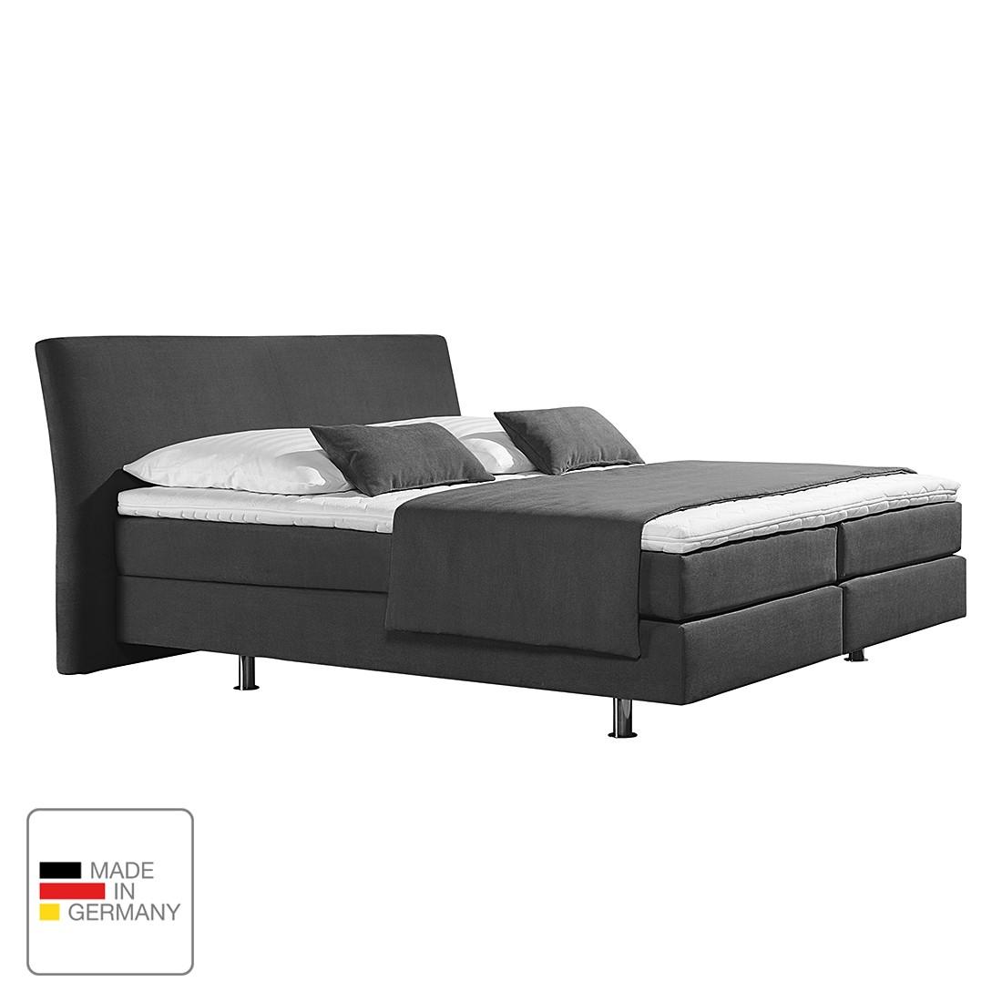 home24 Boxspringbett Cadis   Schlafzimmer > Betten   Grau   loftscape