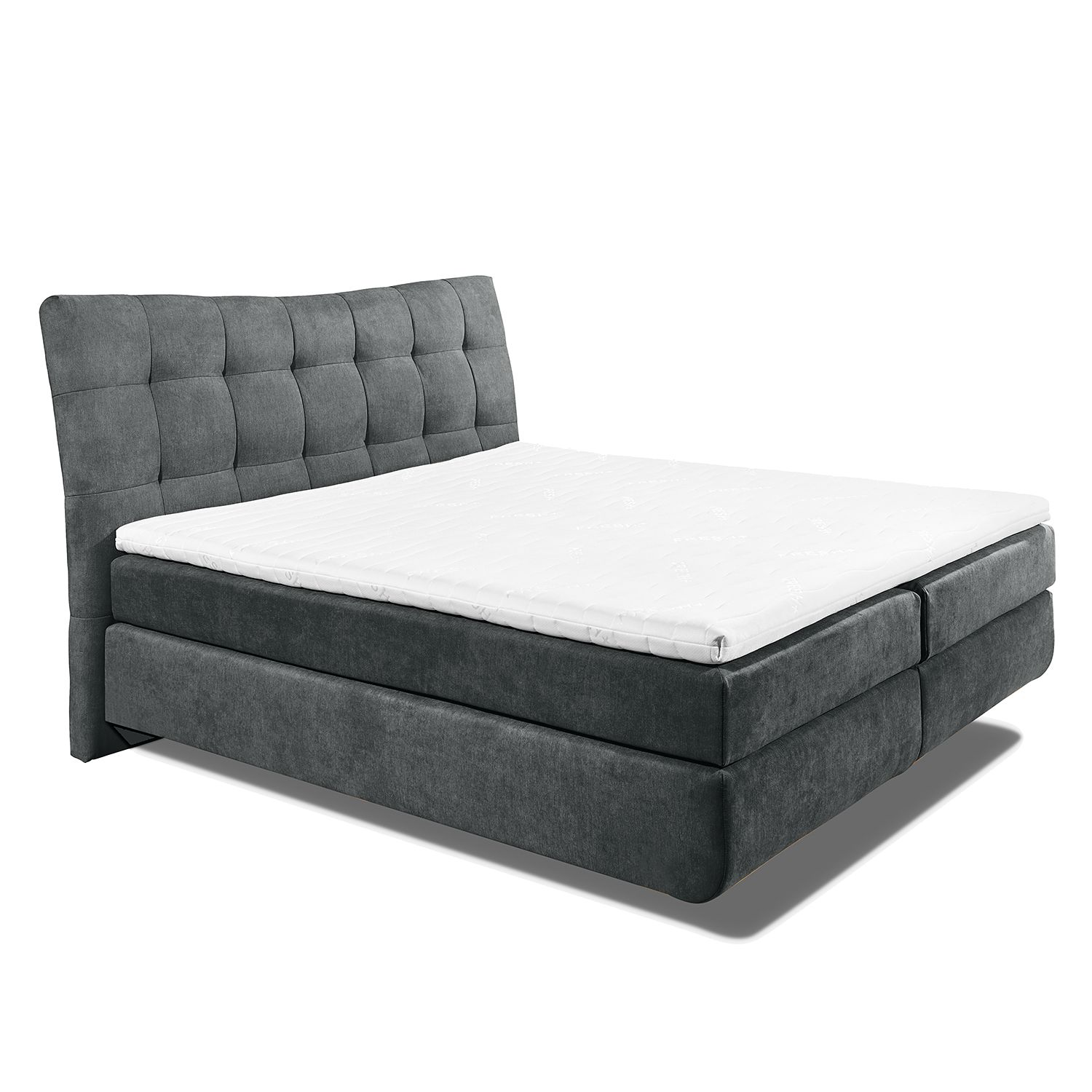 home24 Boxspringbett Maum (inkl. Topper)