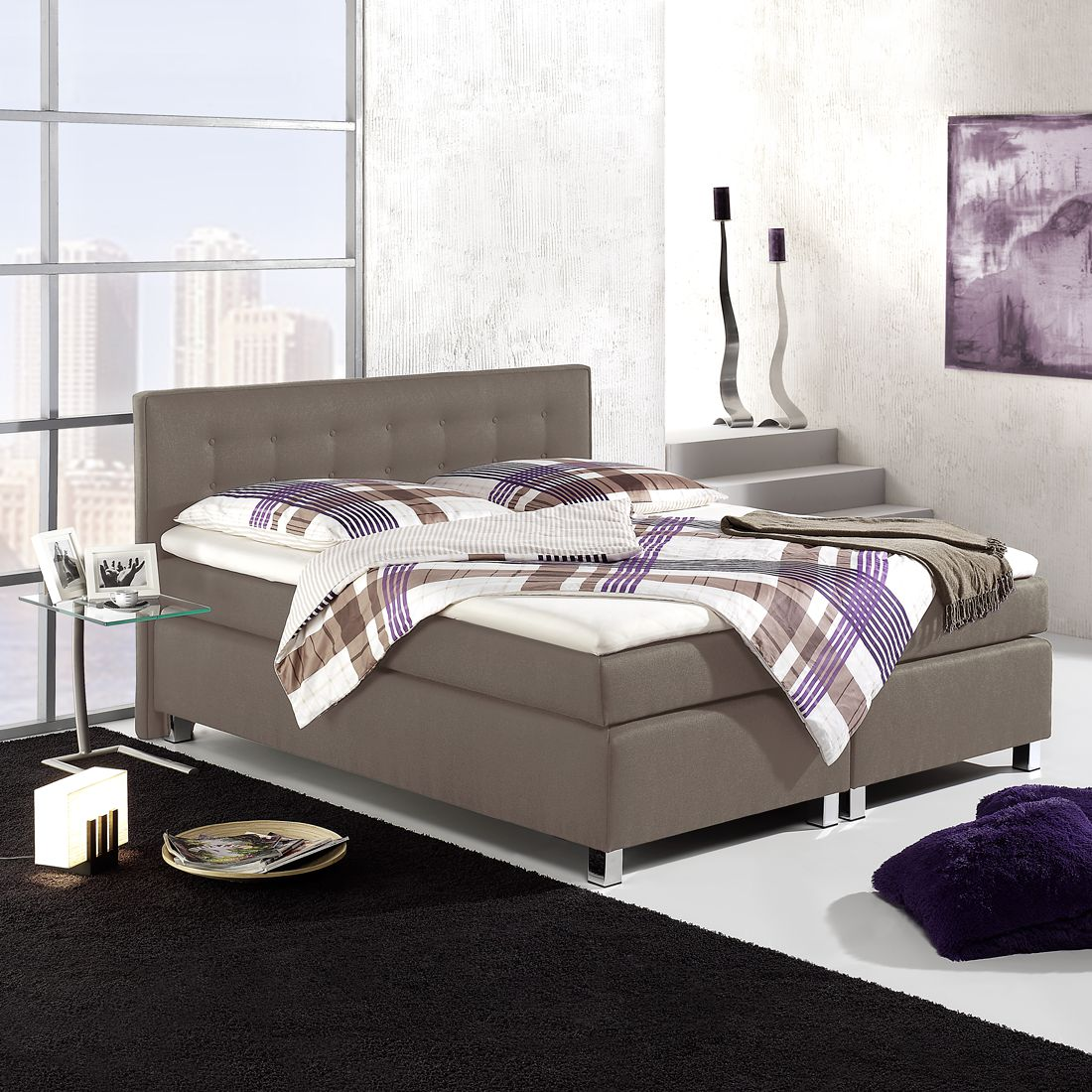 Boxspring Melody, loftscape