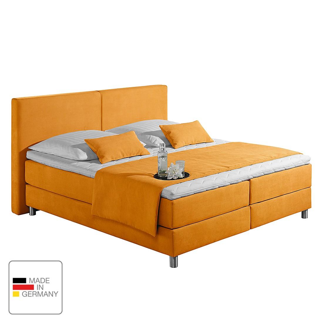 home24 Boxspringbett Nilan | Schlafzimmer > Betten > Boxspringbetten | Gelb | loftscape