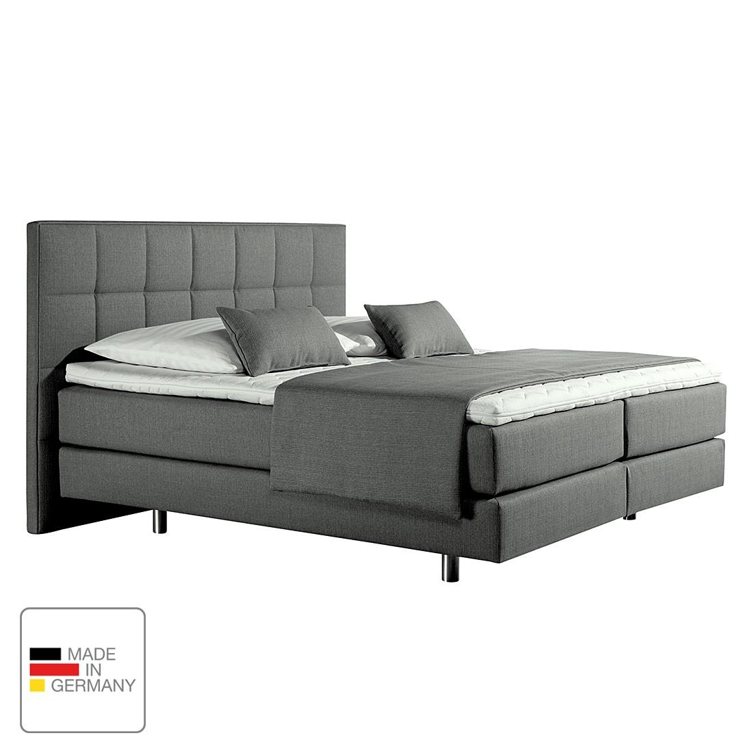 home24 Boxspringbett Tevin | Schlafzimmer > Betten > Boxspringbetten | Grau | loftscape