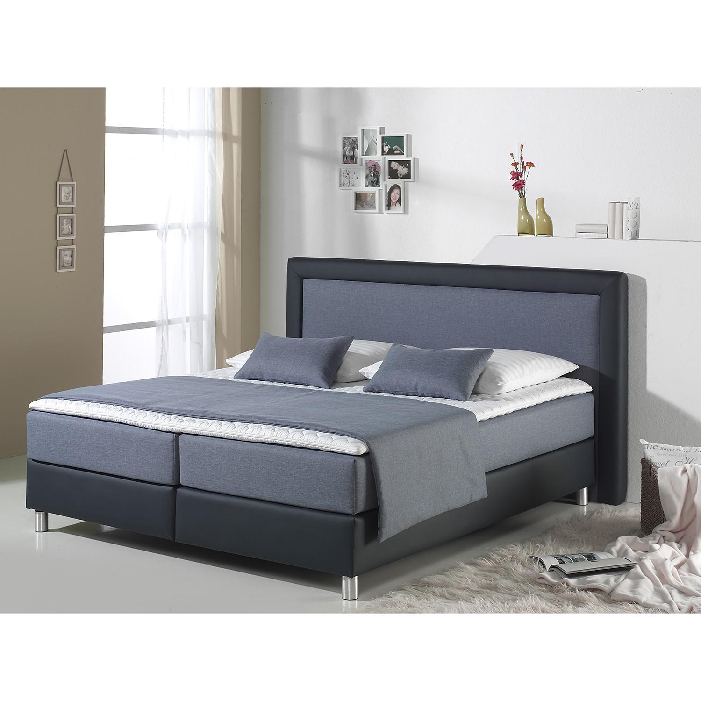 home24 Boxspringbett Vimmerby Kunstleder | Schlafzimmer > Betten | loftscape