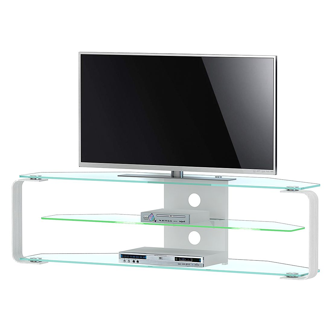 Meuble TV CU- MR (éclairage fourni)