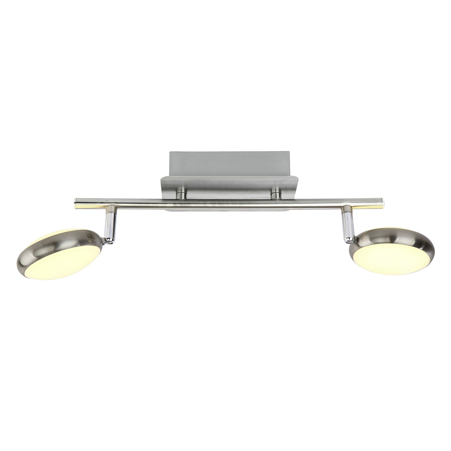 home24 LED-Deckenleuchte Double Shine II