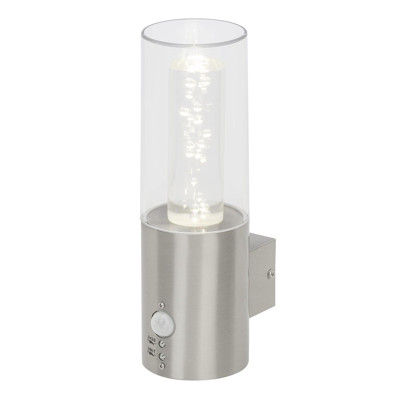 EEK A+, LED-Außenwandleuchte Arctic I - Kunststoff / Edelstahl - 1-flammig, Brilliant