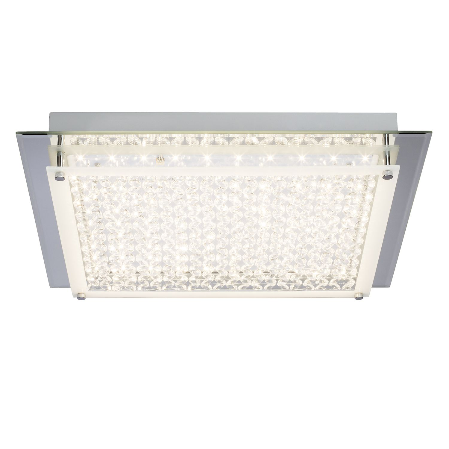 home24 LED-Deckenleuchte Larina Shine