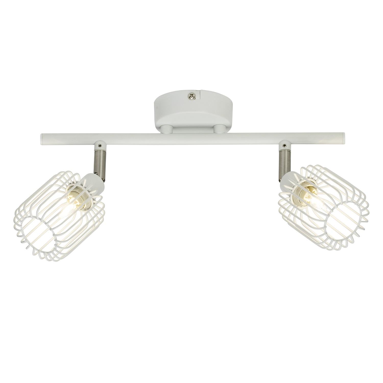 home24 Deckenstrahler Flavian I | Lampen > Strahler und Systeme | Weiss | Metall | Brilliant