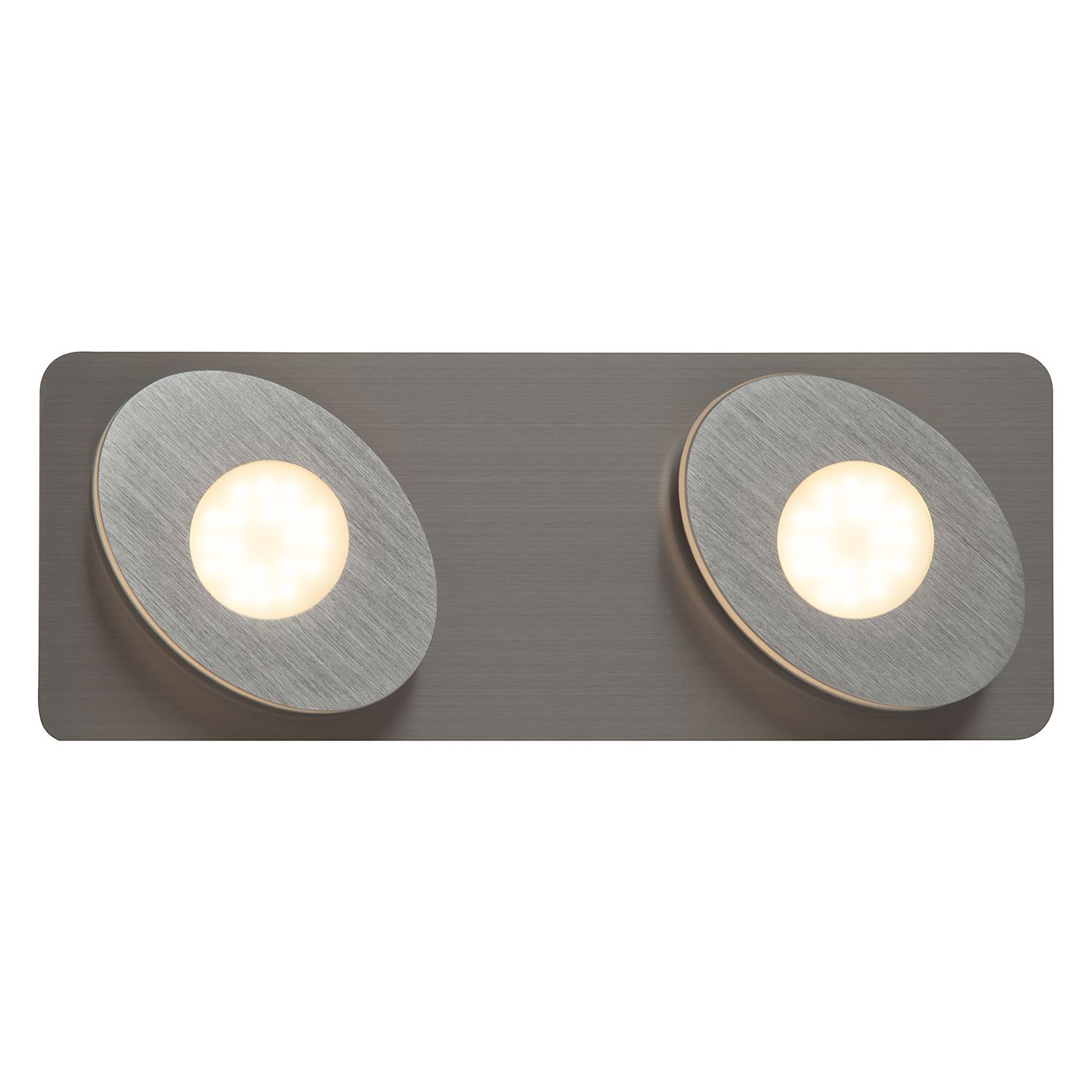 home24 LED-Wandleuchte Crossing