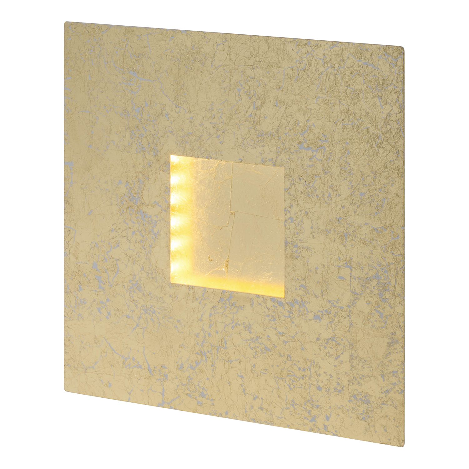 home24 LED-Wandleuchte Pyramid speckled