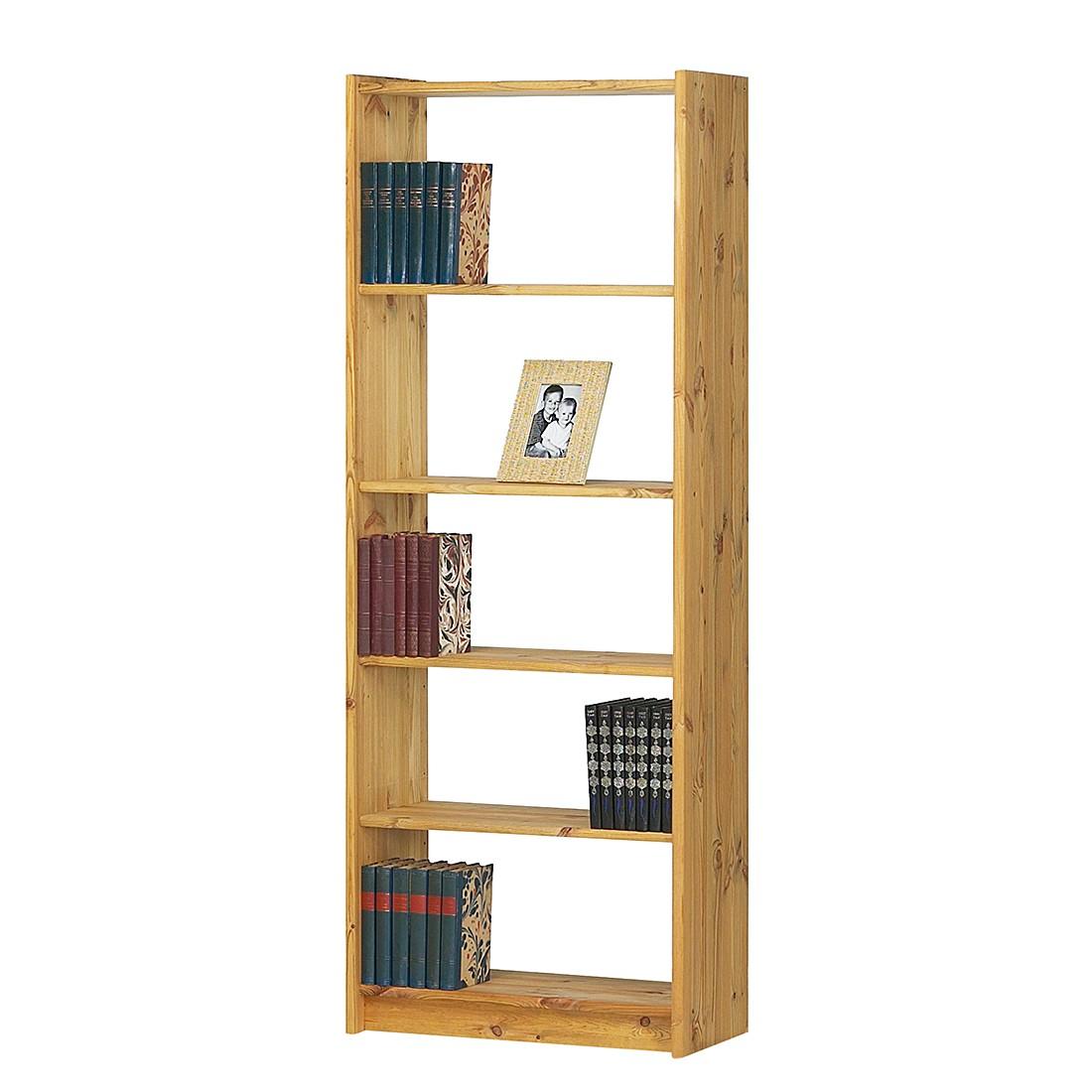 Libreria Tomke II - Pino massello Lisciviato/Oliato, Steens