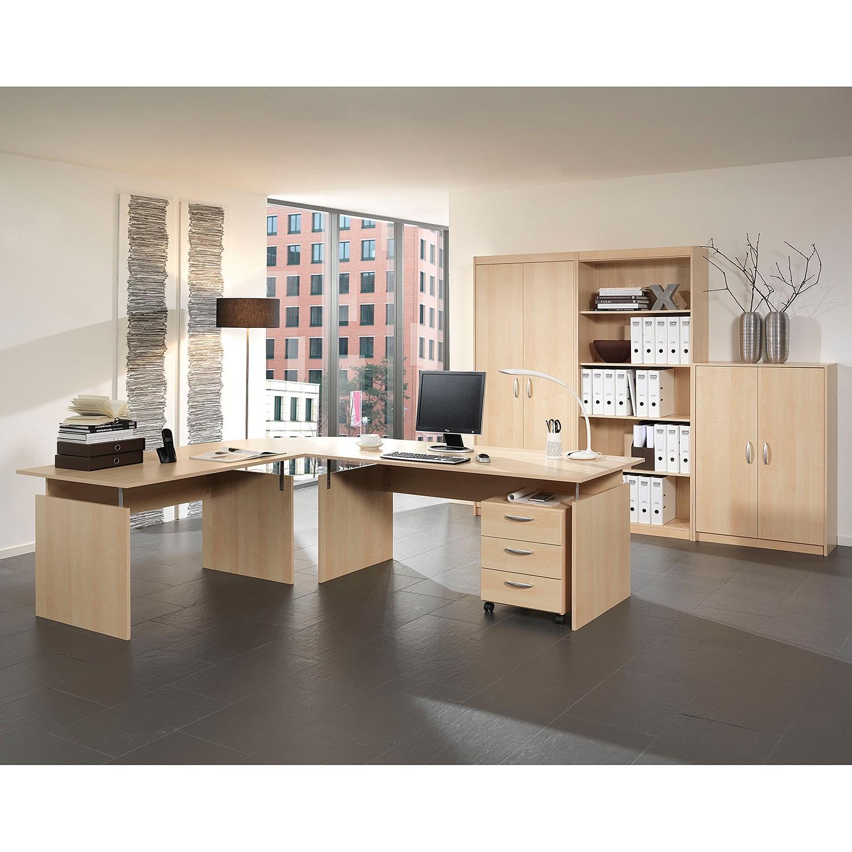 Bueroset Tomas (7-teilig) I   Büro > Büromöbel-Serien   Braun   Holzwerkstoff   Wellemoebel