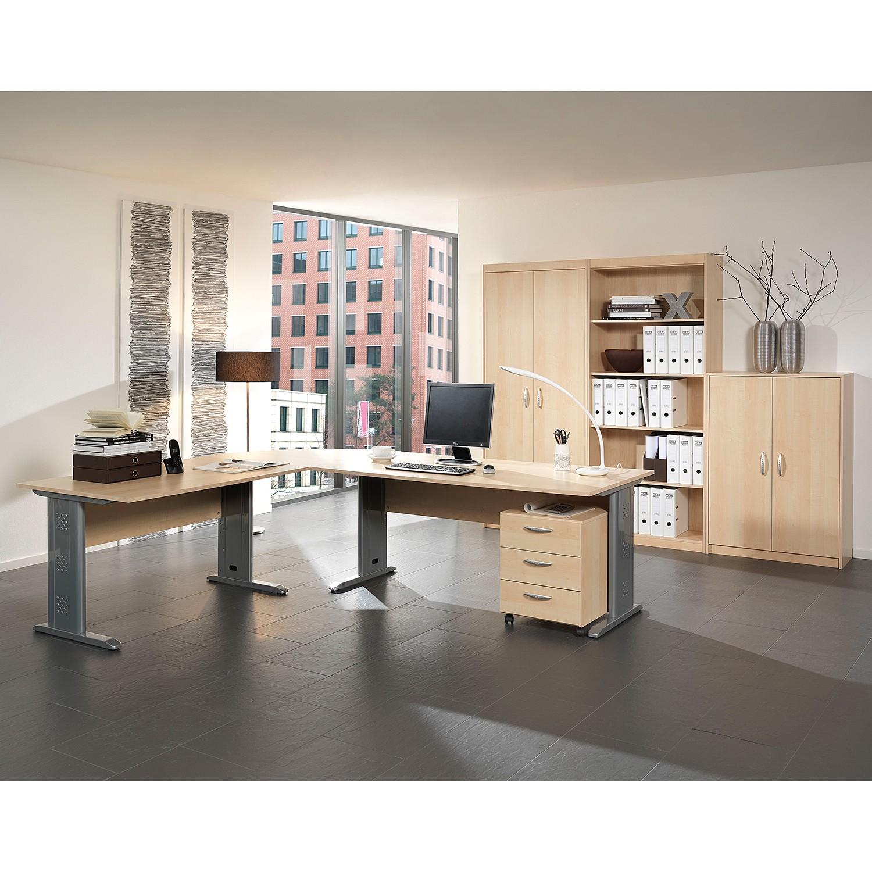 home24 Bueroset Tomas (7-teilig) II | Büro > Büromöbel-Serien | Braun | Holzwerkstoff | Wellemoebel